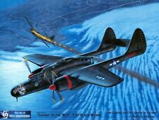 ART PRINT: P-61 Black Widow- Print by Shepherd