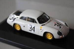 ALFA ROMEO Giuletta GZ N°34 Le Mans 1963 ( Kit monté Provence Moulage ) 1:43