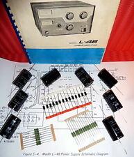Drake L-4B bzw. L7  Refurbish-Kit  für HV Netzteil + 1 gebr. Antennenrelais