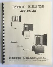 - Storm Vulcan Jet Clean Parts Washer Manual