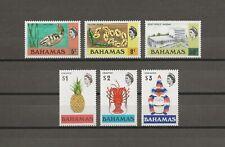 More details for bahamas 1972/3 sg 395/400 mnh cat £20