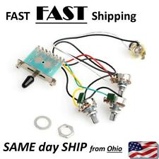 Strat Stratocaster & Other Electric Guitar pre wired wiring harness