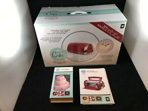 Cricut Cake Mini Electronic Cutter Machine Model CCM001