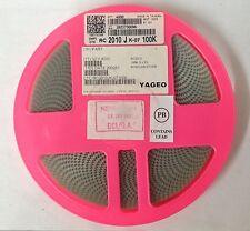 x4000pcs  *NEW*  YAGEO RC2010JK-07100K, Resistor, Thick Film 100K Ohm 5% 0.75W