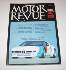 Motor Revue 1978/79  - Bugatti Royale, BMW M1, Van Veen OCR 1000, ...!