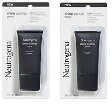 Lot of 2 Neutrogena Shine Control Primer Rice Protein Complex ~ 1 oz ea ~ NEW