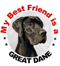 2 Great Dane Car Stickers By Starprint - Auto combined postage
