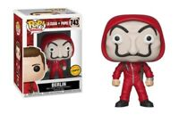 Funko pop chase la casa de papel berlin paper house figure movies serie tv toys
