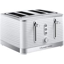 Russell Hobbs 24380 Inspire 4 Slice Toaster White New from AO