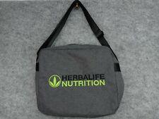 HERBALIFE Distributer Messenger Bag Tote Grey Black Lime Green