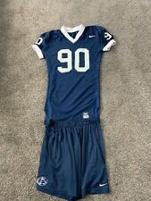 PENN STATE NITTANY LIONS FOOTBALL NIKE GAME USED TEAM ISSUED JERSEY #90 & Shorts