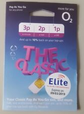 Official O2 PAYG Sim Card With £10 Credit Included.For National & International✔