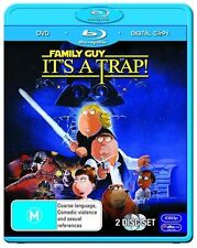 Family Guy - It's A Trap (Blu-ray, 2010, 2-Disc Set)