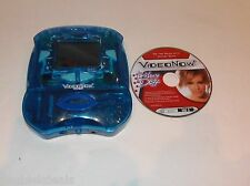 Video Now Color Fx Pvd Player - Blue Translucent Design With Hilary Duff Disc