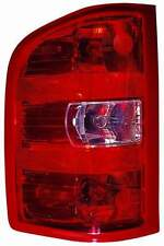 Chevy Silverado 1500 / 2500 / 3500 2007 2008 2009 2010 left driver tail light