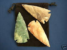 "3  Arrowheads... size 2 1/2""  ...Quality Collector Pieces"
