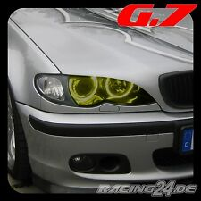 BIMLIGHT 7007 CCFL Standlichtringe Set G7 BMW 3er E46 Gelb Neon Angel Eyes TFL