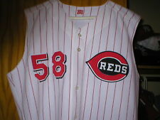 2000 Steve Parris Cincinnati Reds Game Used Worn Jersey