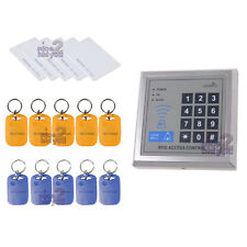 New 125KHz Proximity RFID Reader + 5 Cards + 10 Key Ring Tag