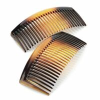 9.5cm Curved Tort Side Hair Combs Slides Hair Accessories