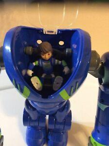 "Disney Miles From Tomorowland  Miles Calisto In Robot Toy 9"" TOMY"