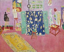 Henri Matisse, Pink Studio, Offset Lithograph.1972 Plate-signed