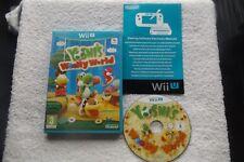 YOSHI'S WOOLLY WORLD Wii U V.G.C. FAST POST ( action/adventure & platform )
