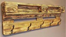 Garderobe Holz vintage aus Paletten Garderobe aus Europaletten Palettenmöbel