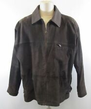 Unbranded Long Leather Zip Men's Coats & Jackets