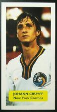 Holanda-New York Cosmos (!) - Johan Cruyff-Puntuación Tarjeta De Comercio De Fútbol UK NASL