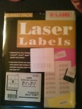 """Laser Labels Diskette 2 3/4""""x 2 3/4"""" 450 Labels Compare to Avery 5196"""