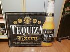 """Anheuser Busch Tequiza Extra Tin Metal Bar Sign 35""""X35"""" Discontinued Advertising"""