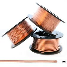 99.9% Pure Copper Wire Dead Soft Half Round 6 8 10 12 14 16 18 20 21 22 24 Gauge