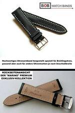 - BOB MARINO Handmade Hi-Tech Nytech Uhrenarmband Kompatibel mit Breitling 22 mm