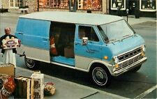 1974 Ford Econoline Van Automobile Dealer Advertising Postcard