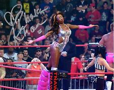 TNA SIGNED PHOTO RHAKA KHAN WRESTLING PROMO WWE