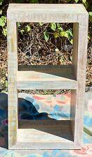 Handmade Timber Shabby Chic Display Shelf Book Case Storage Unit Hamptons