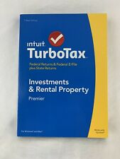 Turbotax 2014 Premier for Investments & Rental Property for Windows and Mac