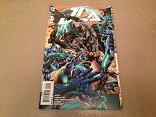 JUSTICE LEAGUE OF AMERICA #1, HITCH 1:100 GATEFOLD COVER, New, DC Comics (2015)