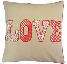 Cotton Blend Embroidered Decorative Cushions