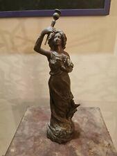 Statuette Régule Signée Charles Ruchot Art Nouveau