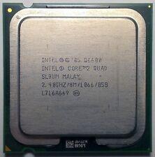 Intel core 2 quad q6600 Kentsfield Quad-Core 4x 2.4 GHz LGA 775 sl9um