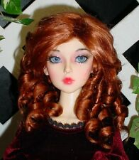"""Monique Gold DOLL Wig """"Paige"""" Size 4/5 in Double Red"""