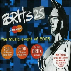 BRITS 25 - The Music Event Of 2005 - 3 Disc Set