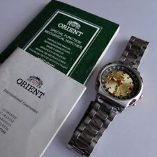 Orient SK Crystal 50м Automatic Men's Watch EM5H-C3 CA Made in Japan