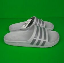 ADIDAS Duramo Slides Sandals Gray Men's Shoe Size 7