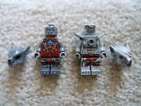 LEGO Chima - Rare - Lot of 2 Chima Minifigs - Excellent