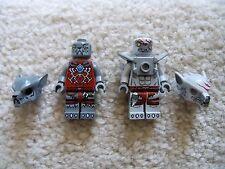 LEGO Chima - Rare - Lot of 2 Chima Minifigs - Excellent