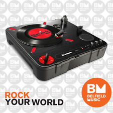 Numark PT01 Scratch Portable Turntable w/ Scratch Switch, USB Out & Speaker - BM