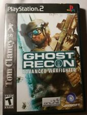 Tom Clancy's Ghost Recon: Advanced Warfighter COMPLETE PS2 Playstation 2